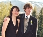 Ellery and Jamie on prom night May 2006